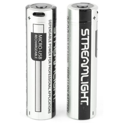 Streamlight USB Rechargeable 18650 Battery 2 Pack