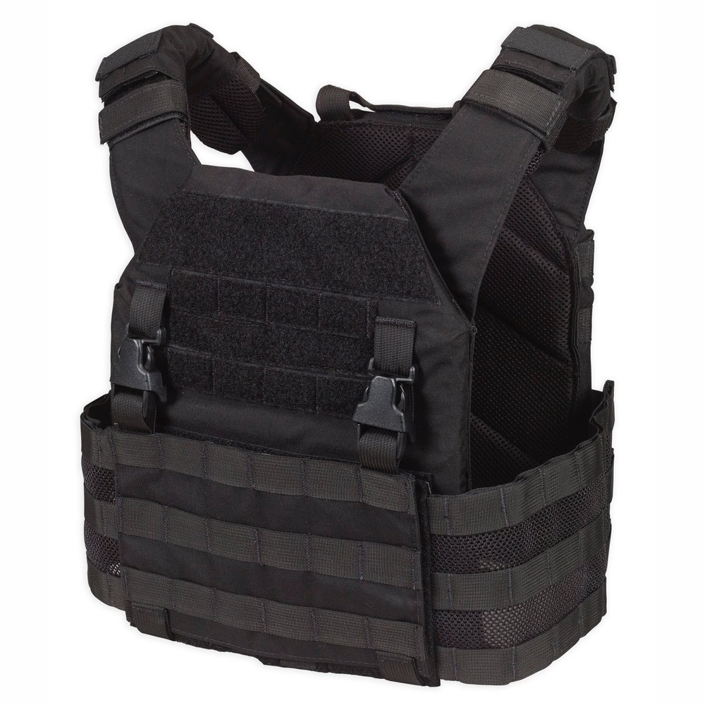 CHASE TACTICAL LIGHTWEIGHT OPERATIONAL PLATE CARRIER (LOPC) Black