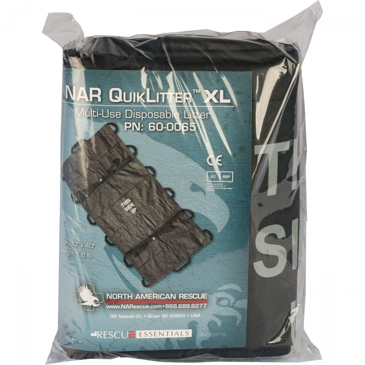 North American Rescue QuikLitter