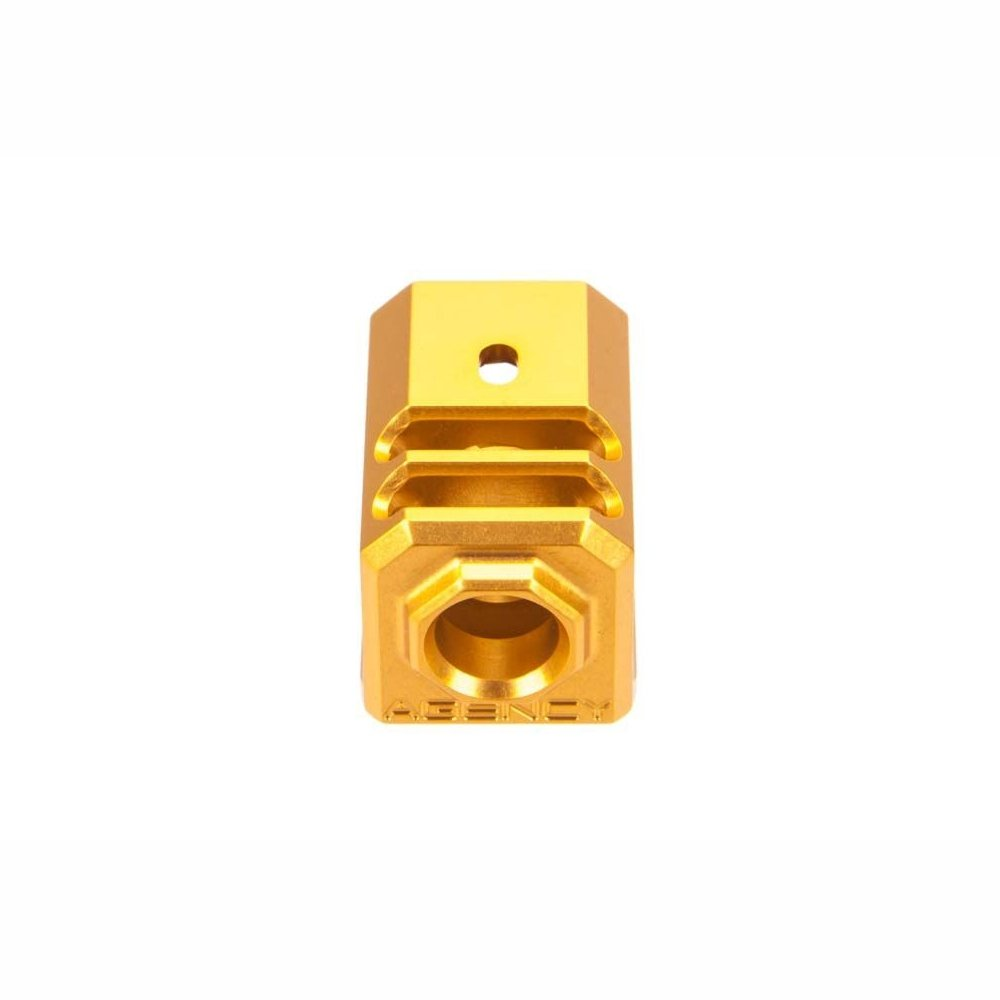 AGENCY ARMS 417 COMPENSATOR Gold