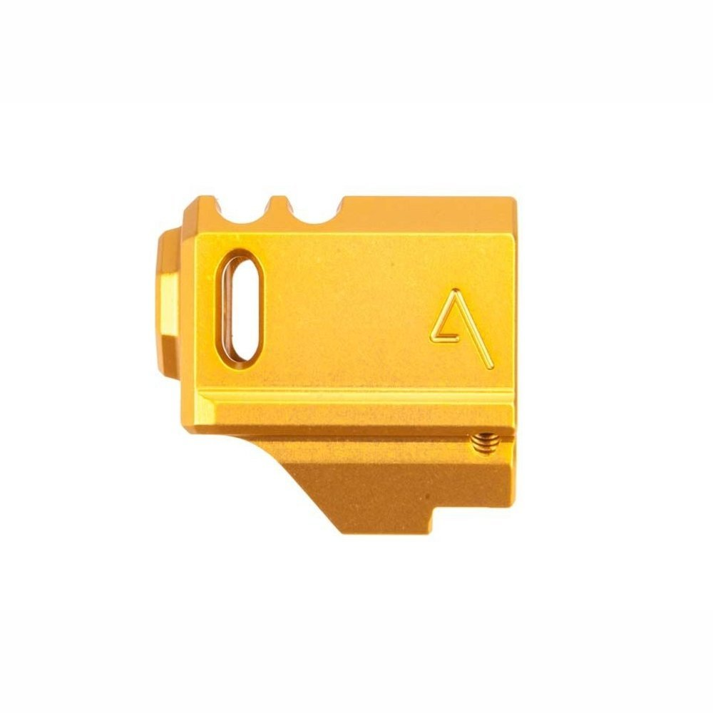 AGENCY ARMS GLOCK 43 COMPENSATOR GOLD