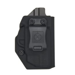 C&G Smith & Wesson M&P Shield 9-40 w-Factory Crimson Trace Laser IWB Tactical Kydex Holster - Quickship 1