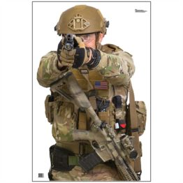 Rockwell Tactical Group No-Shoot Targets 1 and 2 - Officer 2