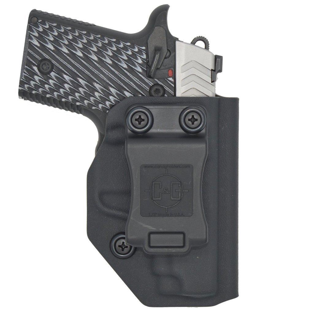 C&G Springfield Armory 911 IWB Covert Kydex Holster - Quickship    MTGTactical com