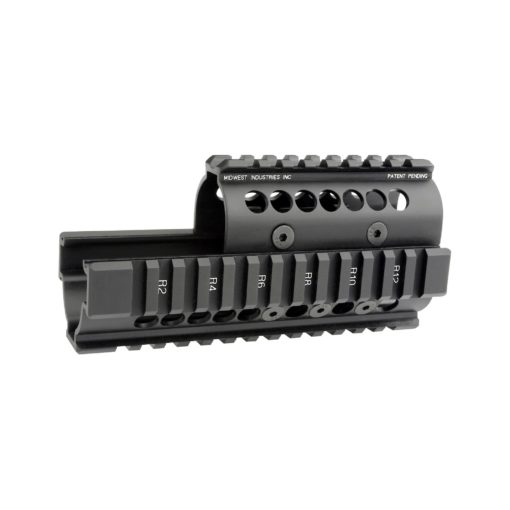 Midwest Industries Universal AK47/74 Quad Rail Handguard with Standard Topcover