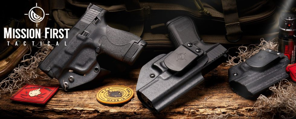 Mission First Tactical Holsters banner